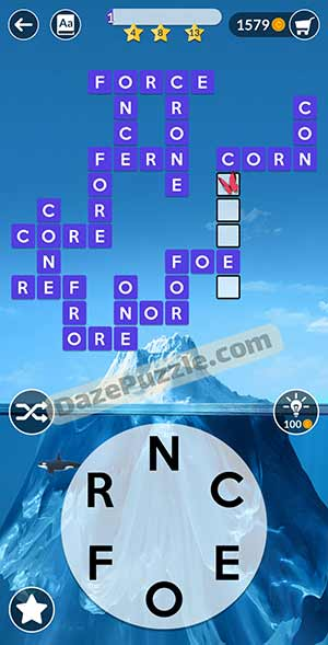 wordscapes january 27 2021 daily puzzle answer