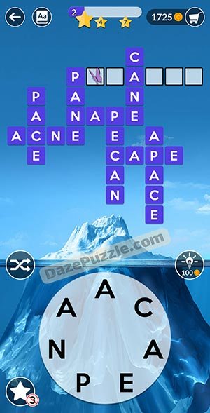 wordscapes january 6 2021 daily puzzle answer