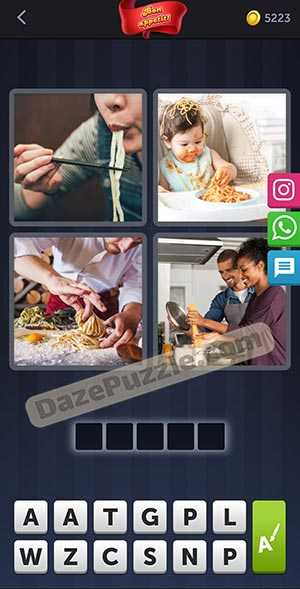 4 pics 1 word february 11 2021 daily puzzle answer