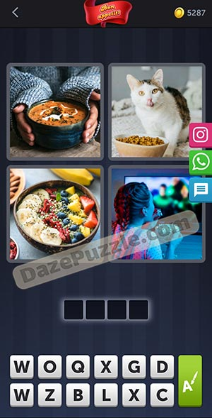 4 pics 1 word february 13 2021 daily puzzle answer