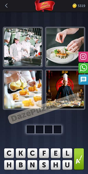 4 pics 1 word february 14 2021 daily puzzle answer