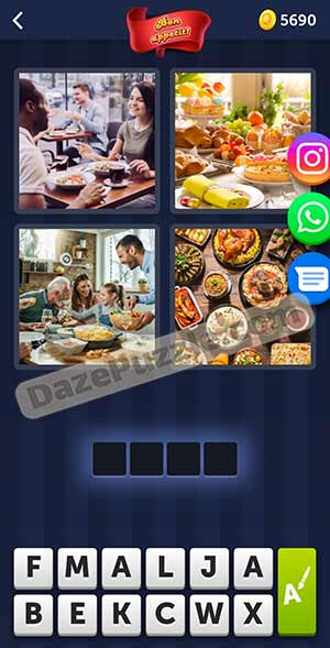 4 pics 1 word february 17 2021 daily puzzle answer