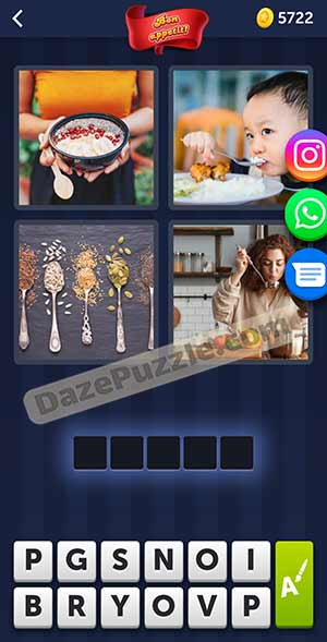 4 pics 1 word february 18 2021 daily puzzle answer