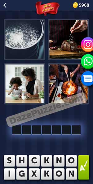 4 pics 1 word february 21 2021 daily puzzle answer