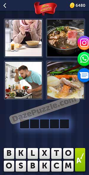 4 pics 1 word february 28 2021 daily puzzle answer