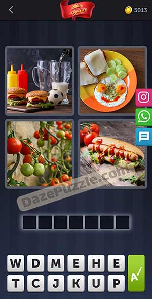 4 pics 1 word february 6 2021 daily puzzle answer