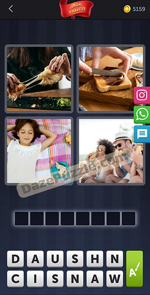 4 pics 1 word february 9 2021 daily puzzle answer