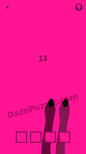 Pink level 13 answer