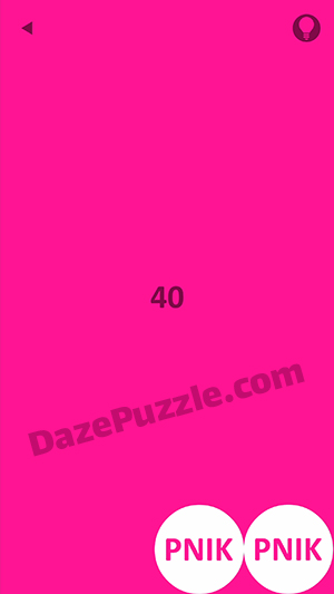 Pink level 40 answer