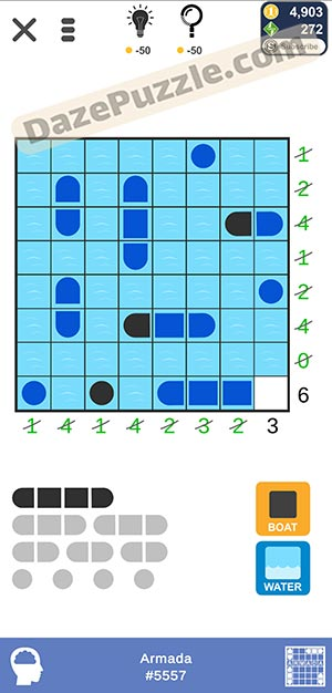 Puzzle page Armada February 11 2021 daily puzzle answer