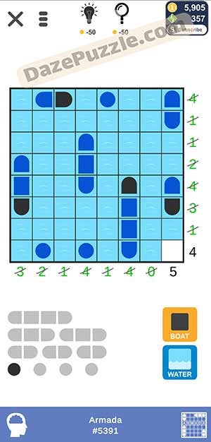 Puzzle page Armada February 18 2021 daily puzzle answer