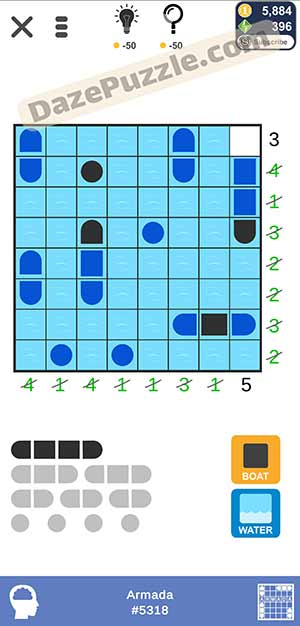 Puzzle page Armada February 25 2021 daily puzzle answer