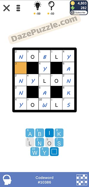 Puzzle Page Codeword February 10 2021 Answers
