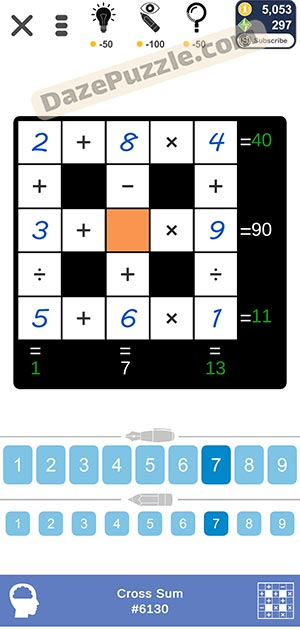 Puzzle Page Cross Sum February 12 2021 Answers