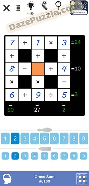 Puzzle Page Cross Sum February 15 2021 Answers