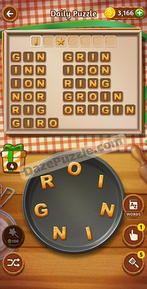 word cookies february 10 2021 daily puzzle answer