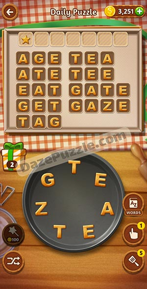 word cookies february 13 2021 daily puzzle answer
