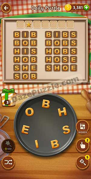 word cookies february 16 2021 daily puzzle answer