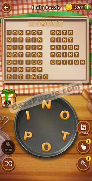 word cookies february 17 2021 daily puzzle answer