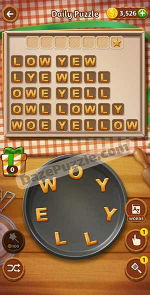 word cookies february 21 2021 daily puzzle answer