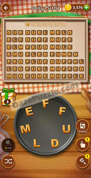 word cookies february 23 2021 daily puzzle answer