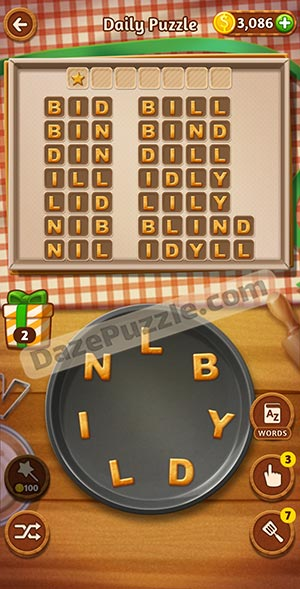 word cookies february 8 2021 daily puzzle answer