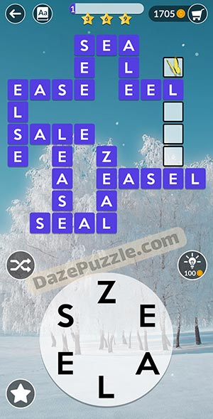 wordscapes February 10 2021 daily puzzle answer