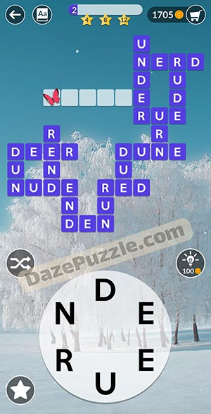 wordscapes February 11 2021 daily puzzle answer