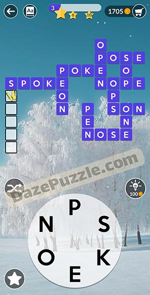 wordscapes February 12 2021 daily puzzle answer