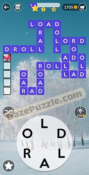 wordscapes February 13 2021 daily puzzle answer