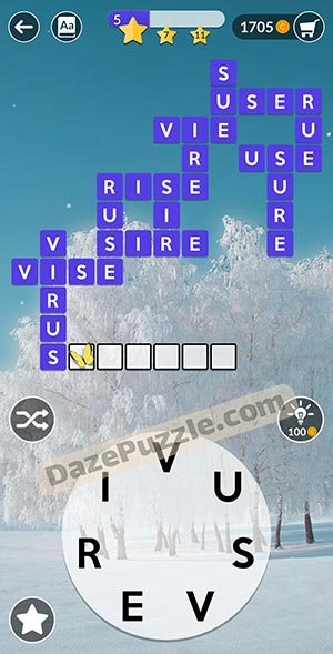 wordscapes February 14 2021 daily puzzle answer