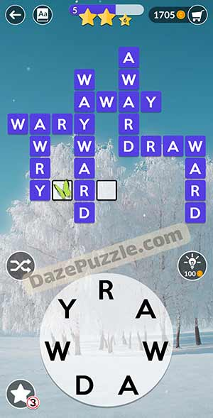 wordscapes February 15 2021 daily puzzle answer