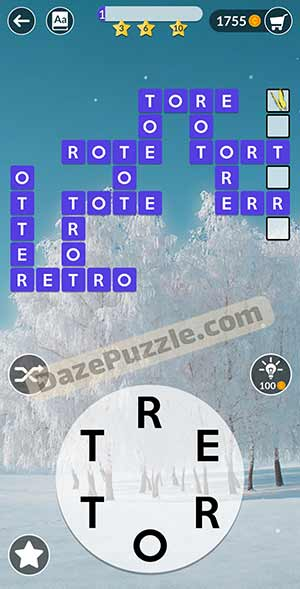 wordscapes February 16 2021 daily puzzle answer