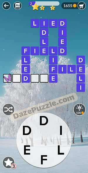 wordscapes February 17 2021 daily puzzle answer