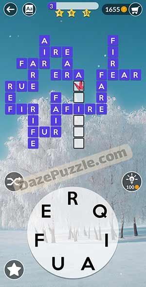 wordscapes February 18 2021 daily puzzle answer