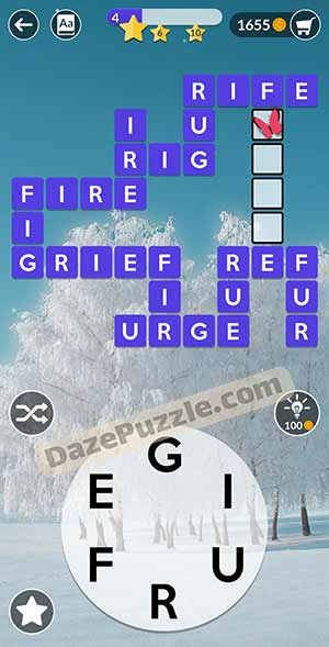 wordscapes February 19 2021 daily puzzle answer