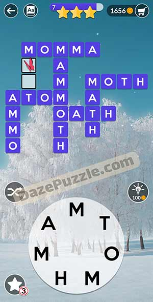 wordscapes February 22 2021 daily puzzle answer