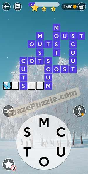 wordscapes February 3 2021 daily puzzle answer