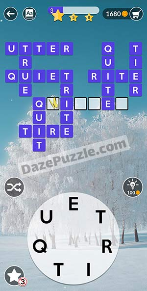 Wordscapes February 5 2021 daily puzzle answer