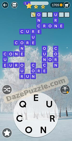 wordscapes February 9 2021 daily puzzle answer