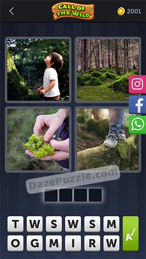 4 pics 1 word March 28 2021 daily puzzle answer