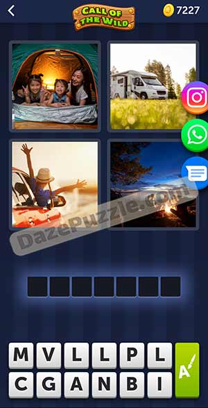 4 pics 1 word March 11 2021 daily puzzle answer