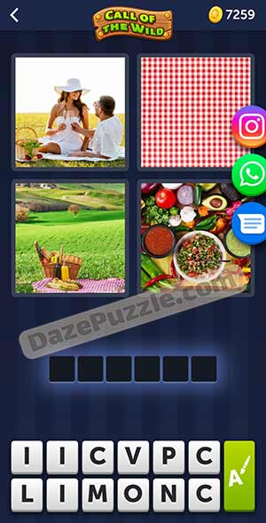 4 pics 1 word March 12 2021 daily puzzle answer