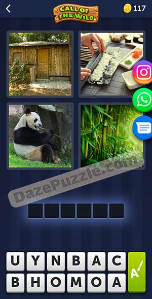 4 pics 1 word March 14 2021 daily puzzle answer