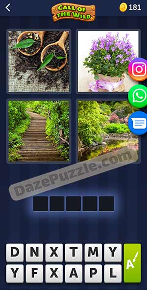 4 pics 1 word March 16 2021 daily puzzle answer