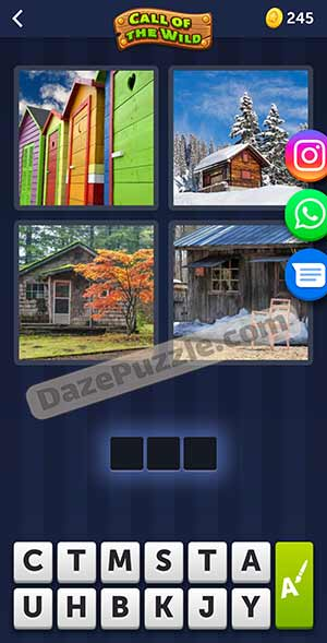4 pics 1 word March 18 2021 daily puzzle answer