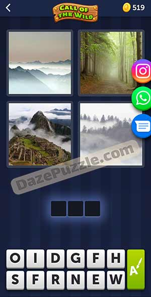4 pics 1 word March 25 2021 daily puzzle answer