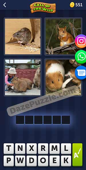 4 pics 1 word March 26 2021 daily puzzle answer