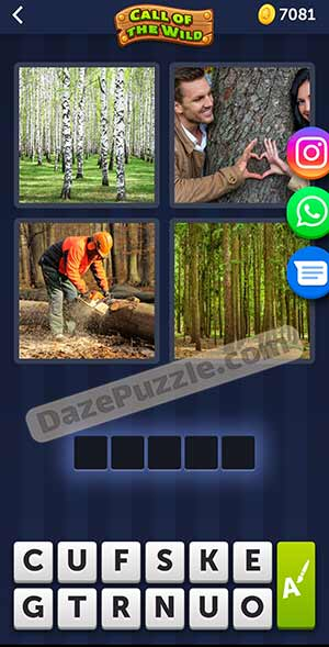 4 pics 1 word March 8 2021 daily puzzle answer