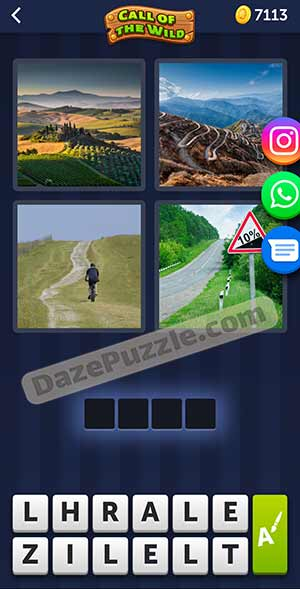 4 pics 1 word March 9 2021 daily puzzle answer
